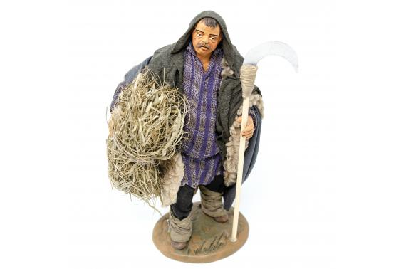 Uomo con Falce - Fisse Vestite - 20 cm