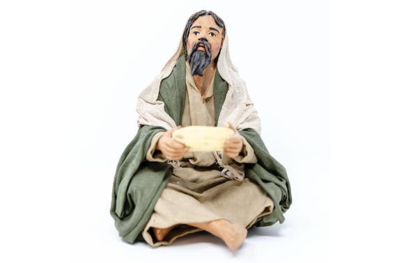Bivacco con Piatto - Fisse Vestite - 20 cm