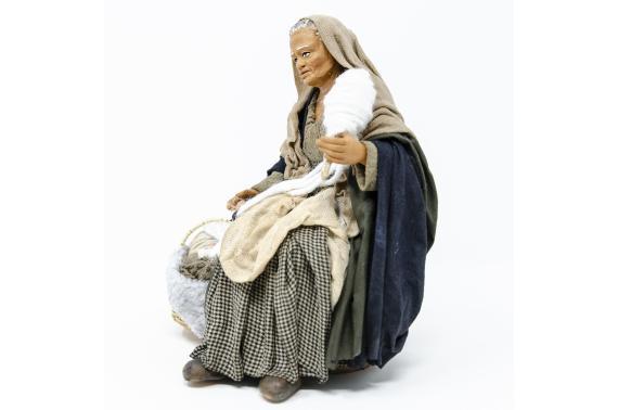 Donna che Fila - Fisse Vestite - 20 cm