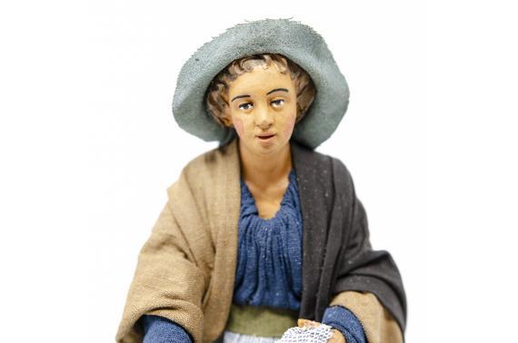 Donna con Becchime - Fisse Vestite - 20 cm