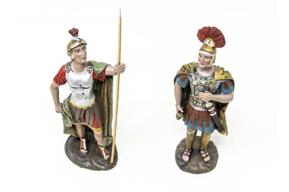 Soldati con Spada e Lancia - Soldati Romani