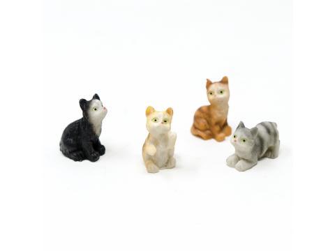 Gatto vari colori - Animali in plastica