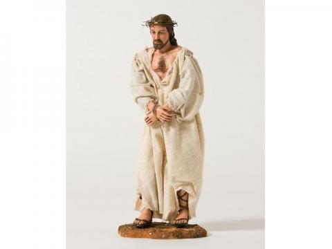 Gesù con Corona di Spine - Artistici Vestiti - 30 cm