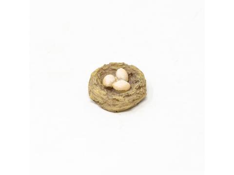 Cesto Uova in resina - Accessori Presepe