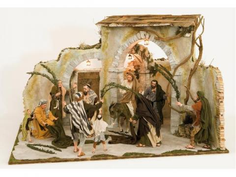 Entrata in Gerusalemme - Scene Pasquali