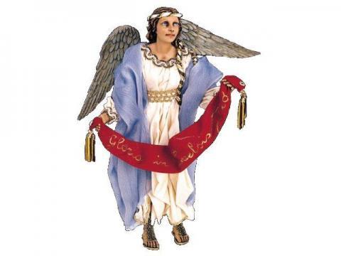 Angelo in volo - Artistici Vestiti Fissi - 30 cm