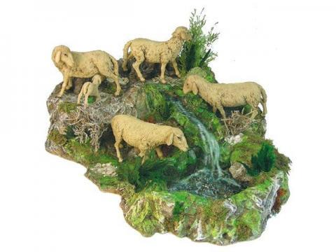Gruppo Pecore - Artistici in Movimento - 30 cm