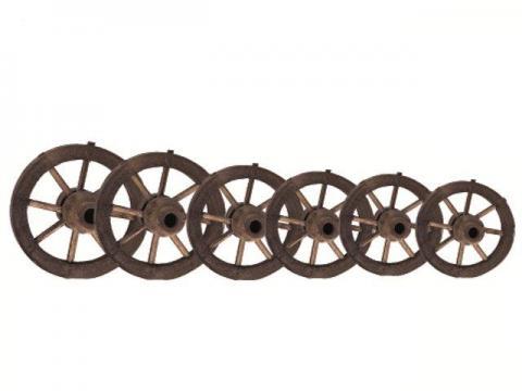 Ruota in legno - Carri e Ruote