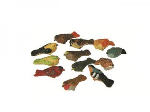 Uccellini - Animali Presepe in Resina