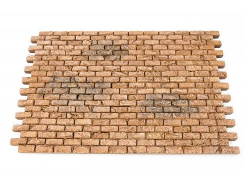 Pavimento modulare mattoncino - Pareti, Lastricati, Tetti