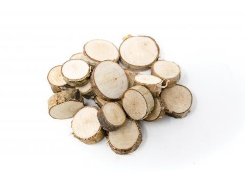 Dischi di legno - Paglia, Legna, Sughero, Juta