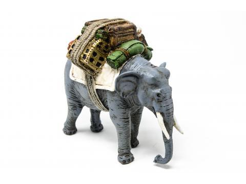 Elefante - Animali Presepe in Resina