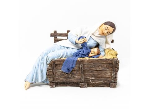 Madonna e Gesù - Artistici in Movimento - 30 cm