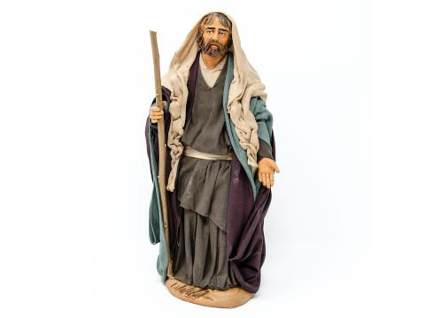 San Giuseppe - Fisse Vestite - 20 cm